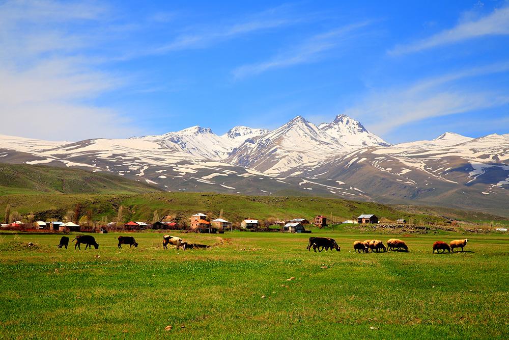 Mount Aragats, Armenia