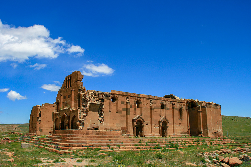 Yereruyk basilica, Shirak region, Armenia