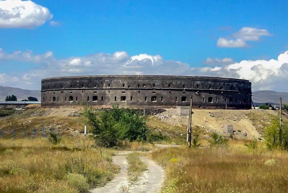 Black fortress in Gyumri